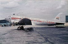 Air_India_DC_3_at_Heathrow